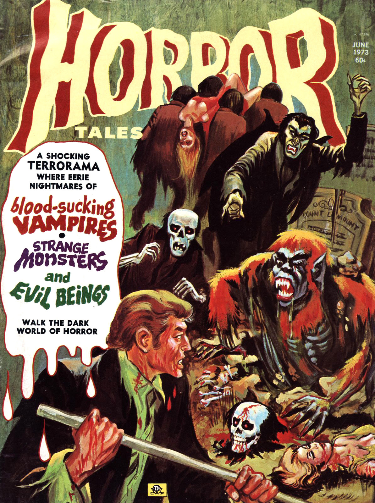 Horror Tales - Vol. 5 #5 (Eerie Publications, 1973)
