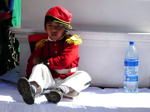 Military enrolement starts early in Bolivia