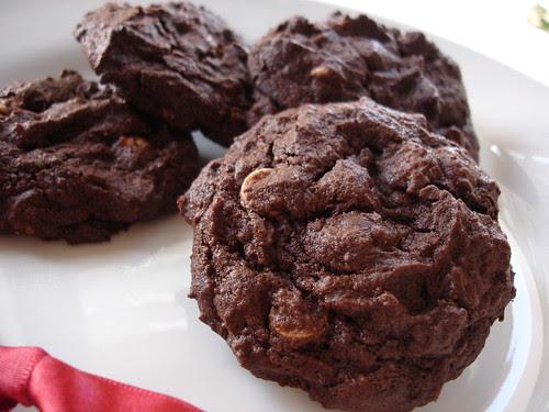 Jessica's super chocolate cookies