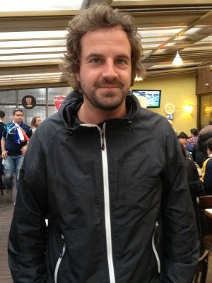 Alemão Jean-Christoph Ritter vive em Berlim (Foto: Fernanda Canofre/G1)
