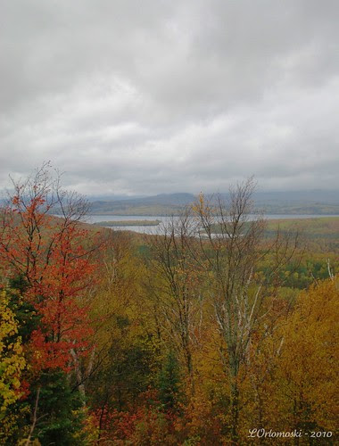 Clouds over Rangeley Lake