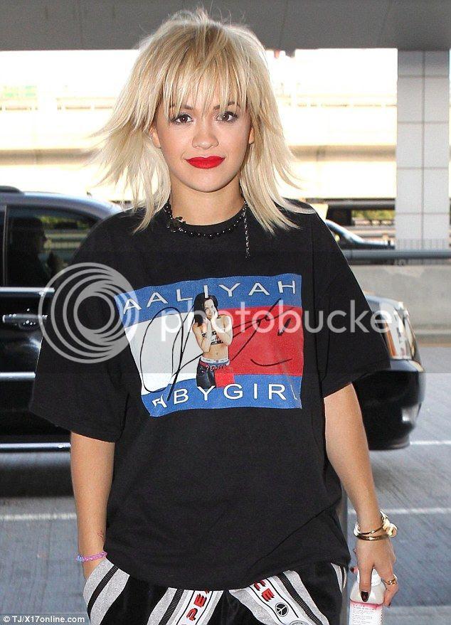 Snapshots: Rita Ora pays homage to Aaliyah...