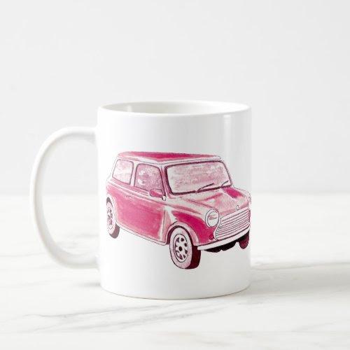 Vintage Pink Car mug