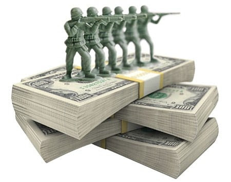 Image result for us budget on military