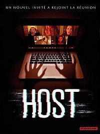 affiche sortie dvd host