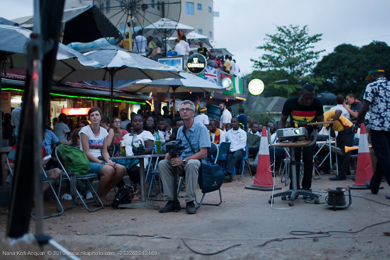 Ghana Vs Germany (Accra fans)