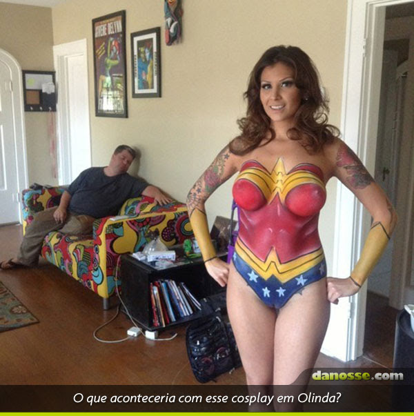 Cosplay do sucesso!