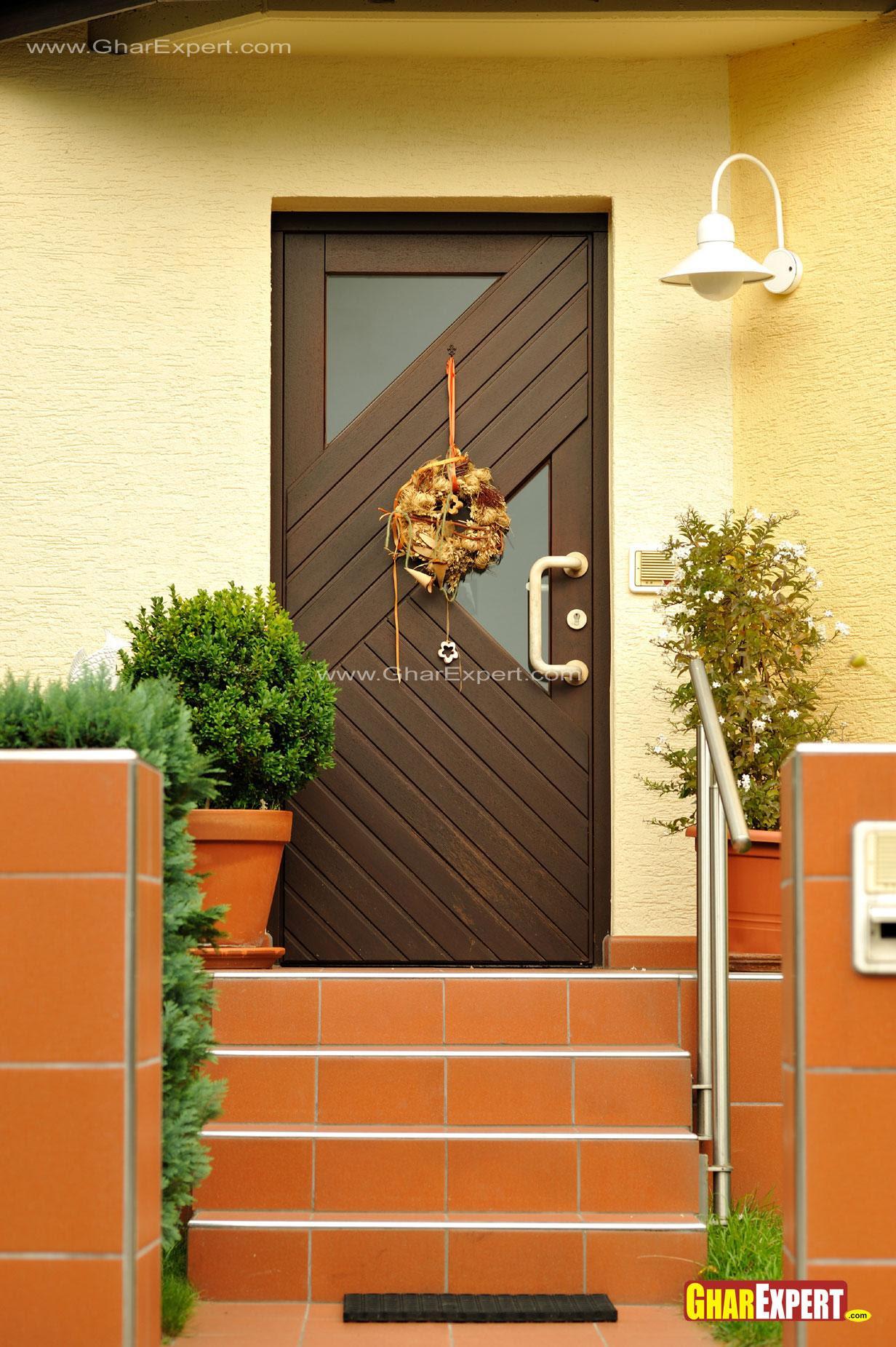 door design main entrance  | Main Entrance Modern Residential