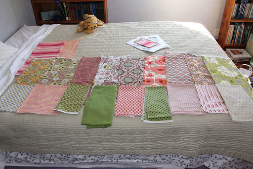 Amy's quilt stage 1