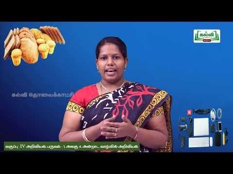 4th Science அன்றாட வாழ்வில் அறிவியல் பருவம் 2 அலகு 4 பகுதி 3 Kalvi TV