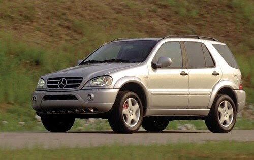 Used 2000 Mercedes-Benz ML55 AMG SUV Pricing & Features ...