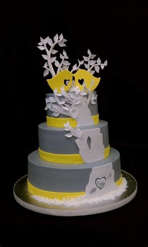 5 Amazing Bird Wedding Cakes   Paperblog