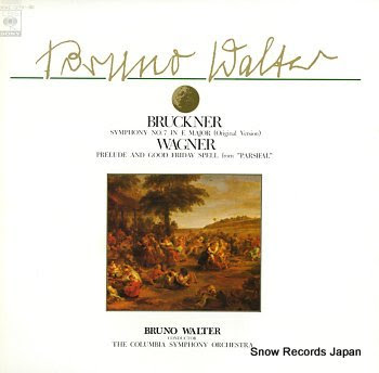 WALTER, BRUNO bruckner; symphony no.7 in e major original version