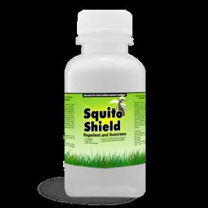 Squito Shield - Mosquito Repellent and Sunscreen 4oz