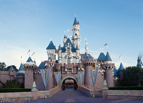 Disneyland Resort, Disneyland, Sleeping, Beauty, Castle, Disneyland60, Bling, Diamond, 60th, Anniversary, Idea, Concept