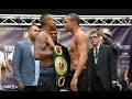 CHRIS EUBANK JR VS RENALDO QUINLAN BIG FIGHT TALK LIVE