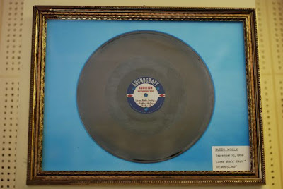 Acetate of Buddy Holly's Come Back Baby