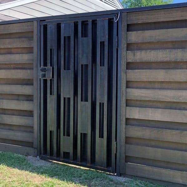 Top 60 Best Modern Fence Ideas - Contemporary Outdoor Designs