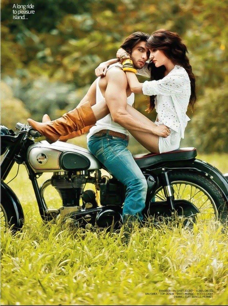 Anushka Sharma and Ranveer Singh Hot Photoshoot