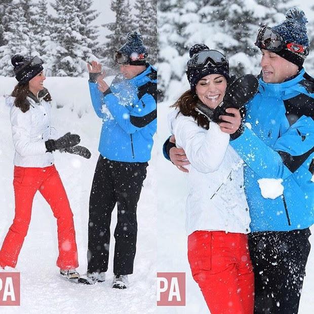 Príncipe William e Kate Middleton  (Foto: Reprodução/Instagram)