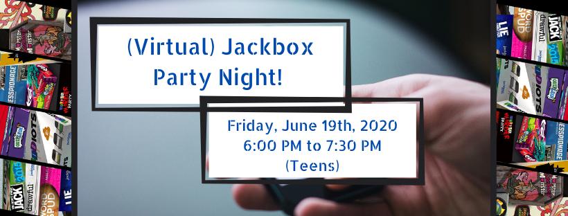 (Virtual) Jackbox Party Night