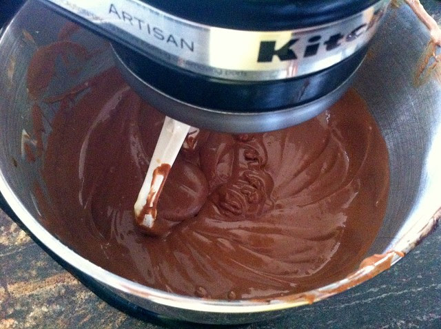 Cheesecake Batter Mixed Until Smooth