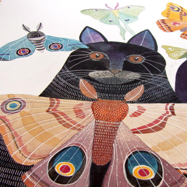 Moth Cat WIP
