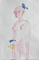 Donald Dick<br />Watercolour on Paper<br />21cm x 29.7cm