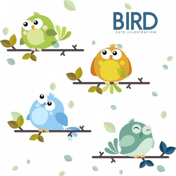 Download 48 Foto Gambar Burung Lucu Kartun HD Paling Unik