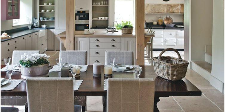 Desain Dapur Dan Ruang Makan Mewah Terbaru