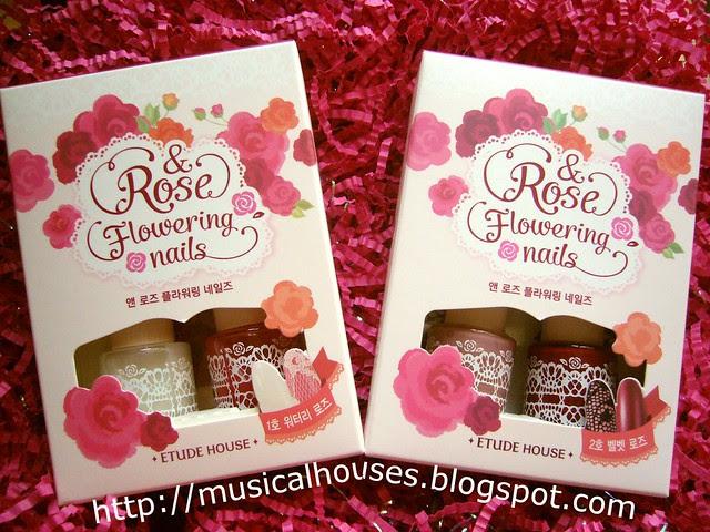 Etude House Rose Flowering Nails
