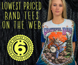 Grateful Dead Banjo Player T-Shirt