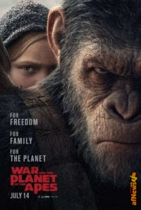 Video e poster: War for the Planet of the Apes