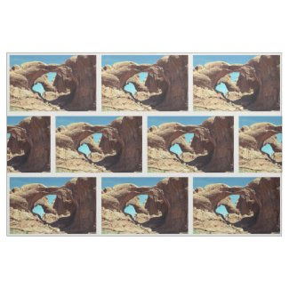 Double Arch Photo Fabric