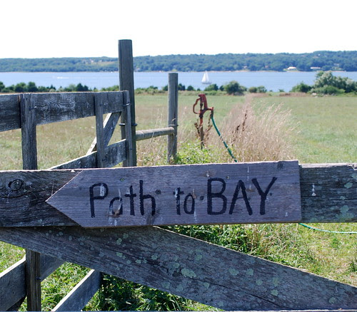 Watsons Farm path sign