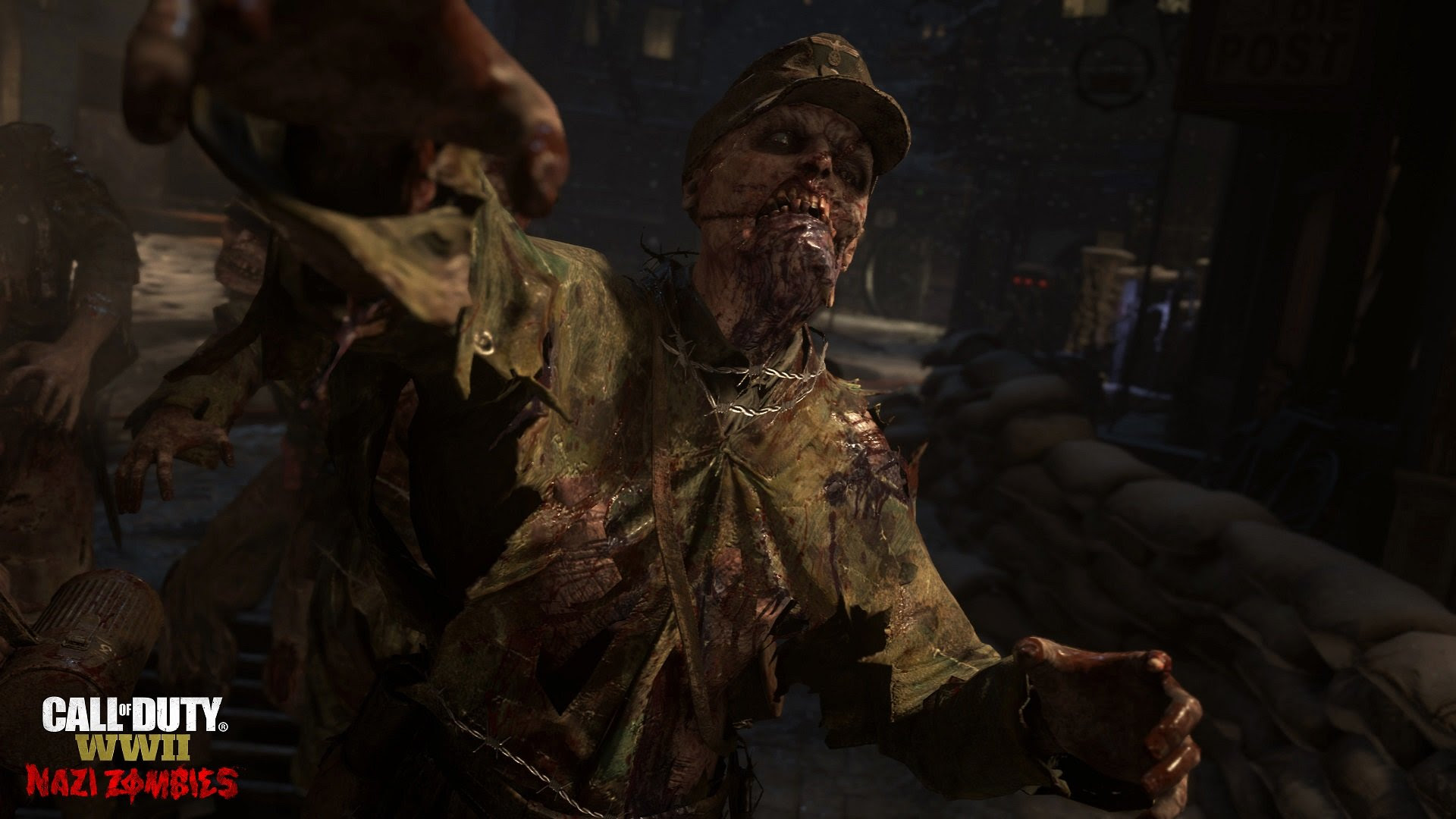 Here's a superb first look at Call of Duty: WWII's Nazi Zombies screenshot