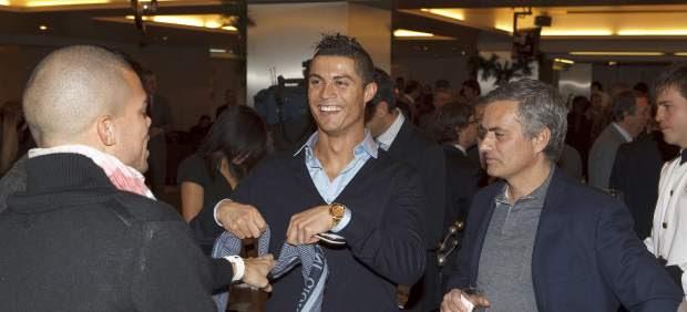 Pepe, Cristiano Ronaldo y Mourinho