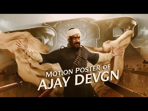 RRR Movie Ajay Devgn Motion Poster