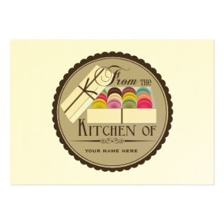 One Dozen French Macarons Set Of 100 Recipe Cards profilecard