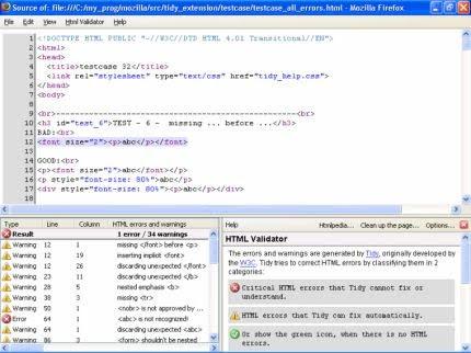 html-validator-firefox