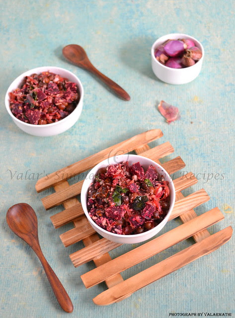 Beetroot and Chickpeas Curry