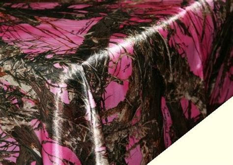 Pink Camouflage Table Cloth   Pink Camo Tablecloth   Camo