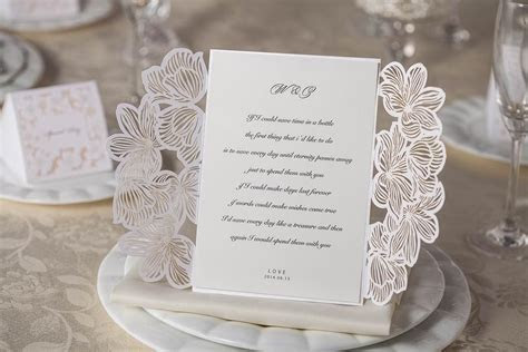 Wedding Invitations Cards Personalized Floral Wedding