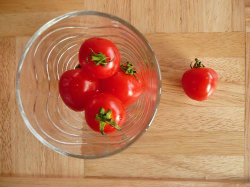 heart shape tomatoes