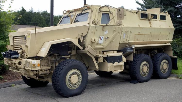 mine protected vehicle