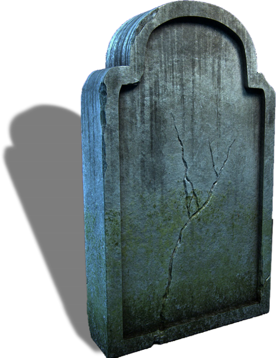 Pierre tombale png, tube Halloween - Tomb stone clipart