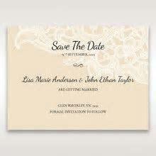 Giant Wedding Pocket Invitations   Elegant Floral Laser Cut