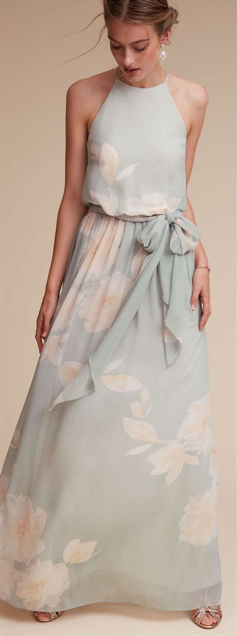 Pastel Floral Bridesmaid Dress   BHLDN   Bridesmaid