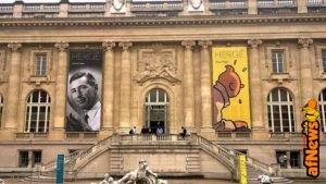 Hergé al Grand Palais: oggi