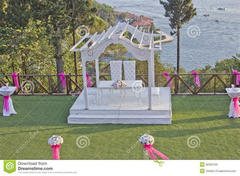 Wedding Stage Royalty Free Stock Images   Image: 36350709